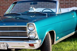 My 1966 Ford Fairlane 500 convertible, restored by my dad.